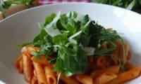 Pastasotto tomates et roquette
