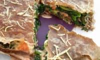 Gâteau de Crêpes au Sarrasin, Blettes, Saumon Fumé