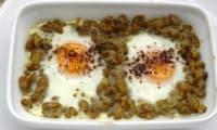 Flageolets aux œufs et aneth