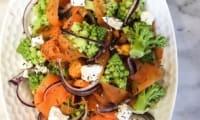 Salade d'hiver à la patate douce