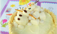 Gâteau d'anniversaire Olaf