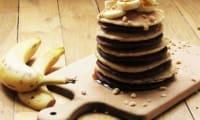 Pancakes à la noisette, variante au chocolat