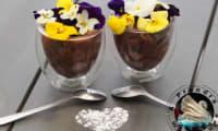 Fondant au chocolat et cerises