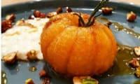 Clémentine infusée au romarin et son caramel d'agrumes