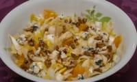 Salade d'endives aux oranges et noix