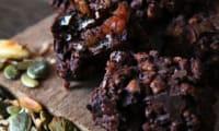Barres chocolatées aux fruits secs