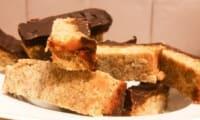 Barres choco caramel au sarrasin