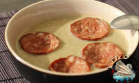 Soupe de lentilles à la saucisse de Morteau