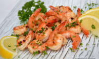 Crevettes grillées aux baies de Szechuan rouge