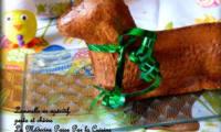 Lammele ou lamala en version salée au chèvre et pesto