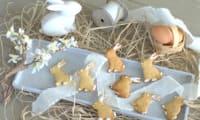 Lapinous de Pâques sablés au beurre