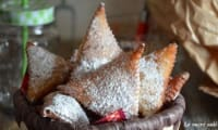 Beignet triangle