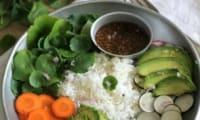 Veggie bowl croquant fondant