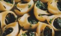 Coques farcies aux escargots