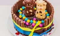 Gâteau de Pâques Kitkat