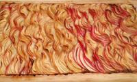 Tarte fine pommes-érable