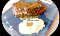 Poitrine de porc confite aux épices