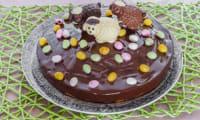 Gâteau de Pâques aux amandes et à l'orange