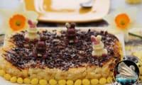 Gâteau bounty de Pâques