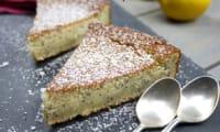 Gâteau au citron, pavot et lait ribot