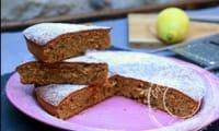 Gâteau aux noisettes et au citron confit