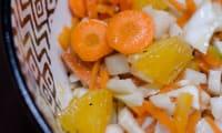 Salade orientale au fenouil et aux carottes