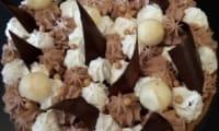 Un fantastik 3 chocolats, poire et noisettes