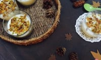 Mouhalabieh Flan Libanais fleur d'oranger