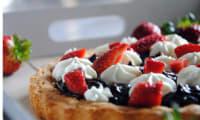 Fantastik fraises, crémeux au chocolat et chantilly mascarpone