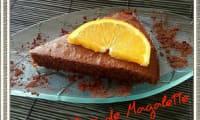 Gâteau Chocolat et Orange