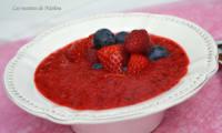 Gaspacho de fruits rouges