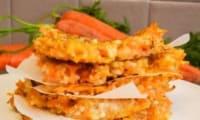 Galettes quinoa, semoule de riz et carottes au curry