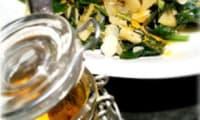 Poêlée de Blettes Sauvages - Pommes - Amandes Effilées