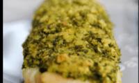 Filets de sole en crumble de persil