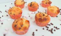 Muffins aux mini chamallows et pépites de chocolat
