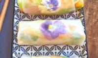 Des spring rolls