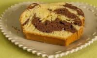 Gâteau du matin marbré au chocolat