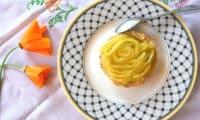 Tartelettes sucrées au fenouil confit et orange
