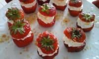 Bouchées de fraises façon tiramisu