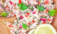 Taboulé de chou-fleur gluten free