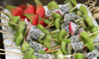 Brochette de fruits des îles