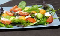 Salade melon concombre tomates