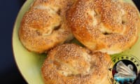 Bretzels aux sésames