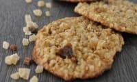 Cookies aux flocons d'avoine et pépites exotiques