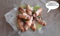 Petits croissants fourrés au maxi kinder