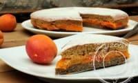 Gâteau aux abricots à l'anglaise