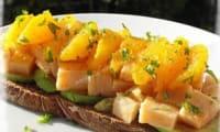 Ceviche de Saumon à l'Orange
