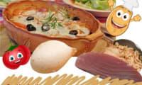 Thon aux pommes de terre, tomates et mozzarella