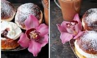 Brioches légères aux amandes et à la cardamome