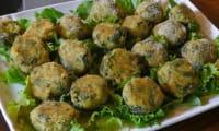 Croquettes courgettes, ricotta, parmesan, des polpettes à l'italienne